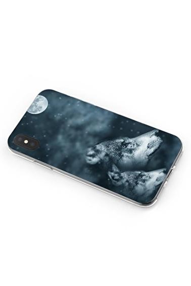 Lopard iPhone Xs Max Kılıf Silikon Arka Kapak Koruyucu Asil Kurtlar Desenli Full HD Baskılı Renkli